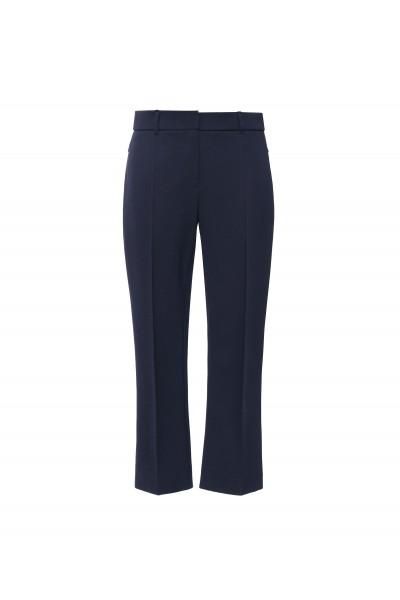 Eleganckie spodnie w kolorze granatowym