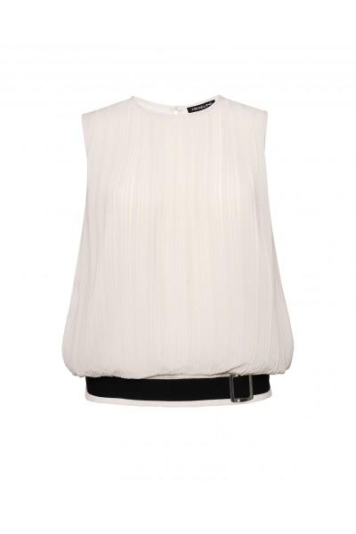 Elegancka bluzka w kolorze ecru