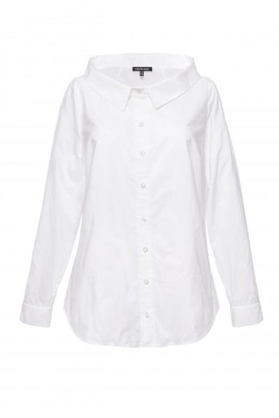 Elegancka bluzka z białej tafty