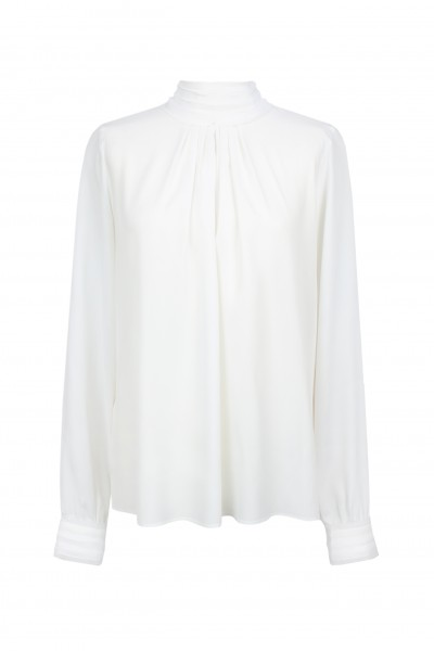 Elegancka bluzka w białym kolorze