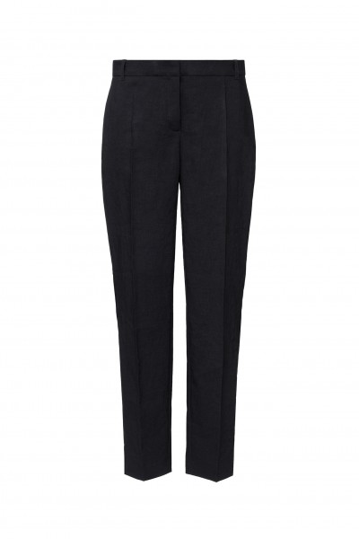 Eleganckie spodnie z ozdobną taśmą