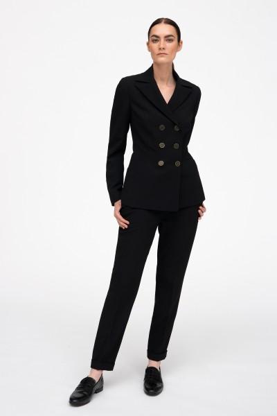 Klasyczne spodnie w czarnym kolorze
